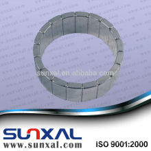 strong neodymium permanent magnet for wind turbine synchronous generator