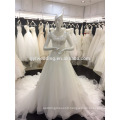 Free Shipping New Wedding Dress Made In China Ball Gown Crystal Beaded Bow Tulle Long Train Wedding Dresses Turkey Istabul A072