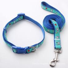 Custom Pet Accessories Leash Nylon Dog Pet Collar (HJ7120)