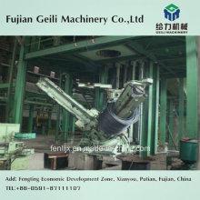 Recolección de bobinas para la línea de producción de laminado de acero