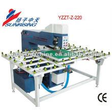 Vidrio completo-automático opción de láser YZZT-Z-220 máquina de perforación