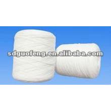 Fil de coton de fibre de bambou