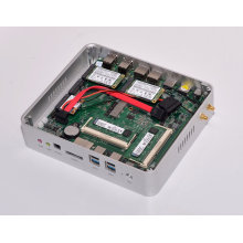 Eglobal Mini-Itx Micro PC Intel Core I5 5200u 2nics 2HDMI Industrie Fanless Mini PC Windows10 Rahmen