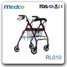 Roller de alumínio Deluxe com rodízios RL010