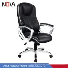 Nova Ergonomic Computer Director Office Chair With Leather Neck Support