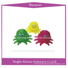 Plastic Sharpener with Octopus Shape