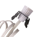 ETL approved Clip-In Cord Set US salt lamp cords with gear switch