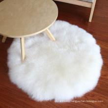 100% australian fur area rugs for bedroom round white sheepskin rug