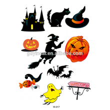 The latest!!! Halloween party body sticker tattoos with beauty design human body art tattoo sticker