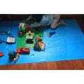 Protecteur de plancher pour enfants en bois dur stratifié pour tapis