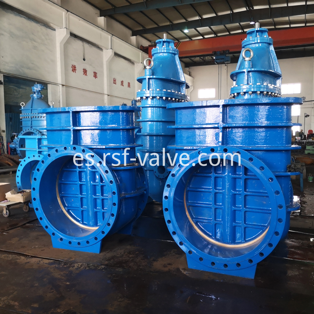 Bs5163 Metal Seat Gate Valve 3