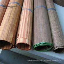 placage de bois tranché face de placage