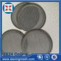 Disco de filtro de malla de alambre metálico