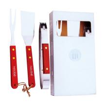 3 piece mini grilling bbq accessories