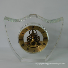 Chinese Fengshui Crystal Clock for Decoration