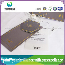 Different Shape Paper Printing Hang Tag (Rope)