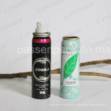 Алюминиевый спрей аэрозоль может для тела духи спрей (ппц-ААС-030)
