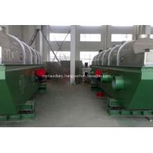 Vibrating fluid bed drier of fumaric acid