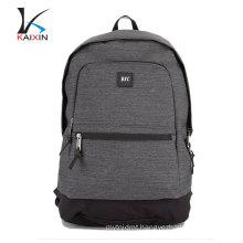 China wholesale school waterproof laptop backpack custom fabric backpack
