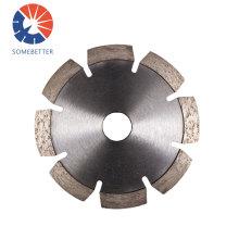 Cold-pressed Sintered 180mm Segment Diamond Circular Saw Blades for Dry Cutting Stone