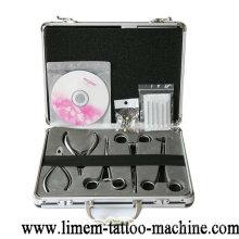Outils chirurgicaux de piercing de corps d'acier inoxydable de catégorie médicale