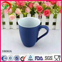 Gros logo personnalisé tasses en céramique, tasse de rasage en céramique