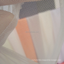 Wholesale transparent spandex nylon mesh bra fabric 40gsm power net fabric