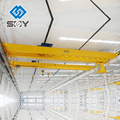 Atelier de structure métallique double poutres pont type grue de levage