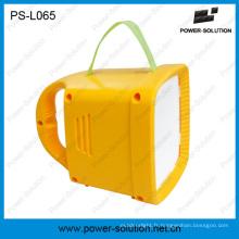 Lanterne solaire de Rechargeble LED avec la charge mobile de radio de FM