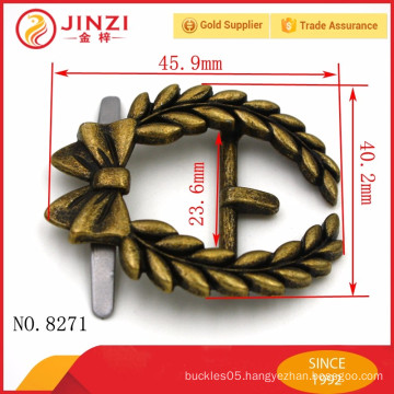 High quality and classic style of buckles in zinc alloy for bags