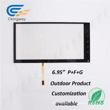 """6.95 """"4 fils résistant à l'infrarouge multi écran tactile cadre"""