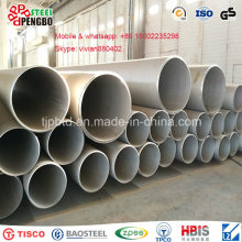 Tubo de acero DIN 13crmo44 Incoloy 600 con CE