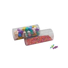 Custom Clear Plastic Cylinder Box