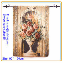 flower wall tapestry rod,fashion wall tapestry rod,europe tapestries rod