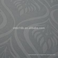Nova chegada Flame Design 100% poliéster linho como Jacquard cortina tecido