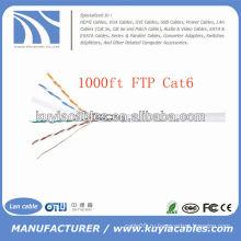 1000FT 4pairs Cat6 LAN кабель FTP-кабель