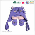 Animale buffo cappello e guanti Set