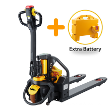Xilin Hot Selling 1.5ton 1500kg Lithium Battery Pallet Jack Electric Pallet Truck With Extra Battery