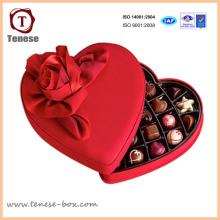 Nouvelle boîte à cadeaux en carton en chocolat à la mode