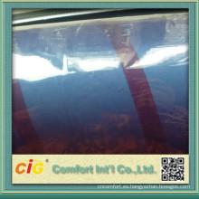 China alta calidad clara película suave del PVC