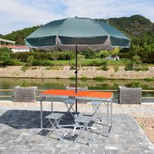 VIVINATURE table de salle à manger portative pliante en aluminium de pique-nique de camping