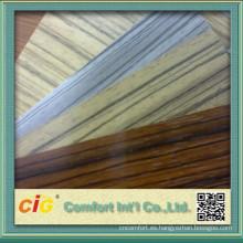 Textura de madera del PVC película de la decoración