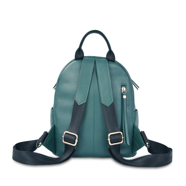 Mini backpack simple design leisure leather backpack for girls