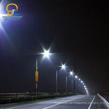 Materiales garantizados por el fabricante led luz de calle al aire libre