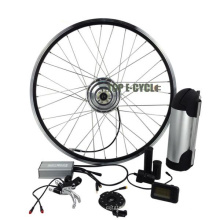 el mejor precio de venta barato kit de bicicleta de conversión eléctrica de alta gama 350W China
