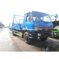 Hot sell dongfeng swing arm garbage truck