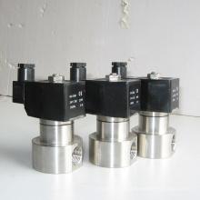 China fez baixo preço de alta pressão em aço inoxidável 304 316 BSP rosca conexão de água válvula solenóide 12 V