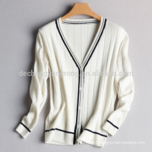 2017 Spring and Autumn women V collar Slim thin sweater
