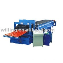 Used Roll Forming Machine/ roofing tile Machine 35-125-750(875)