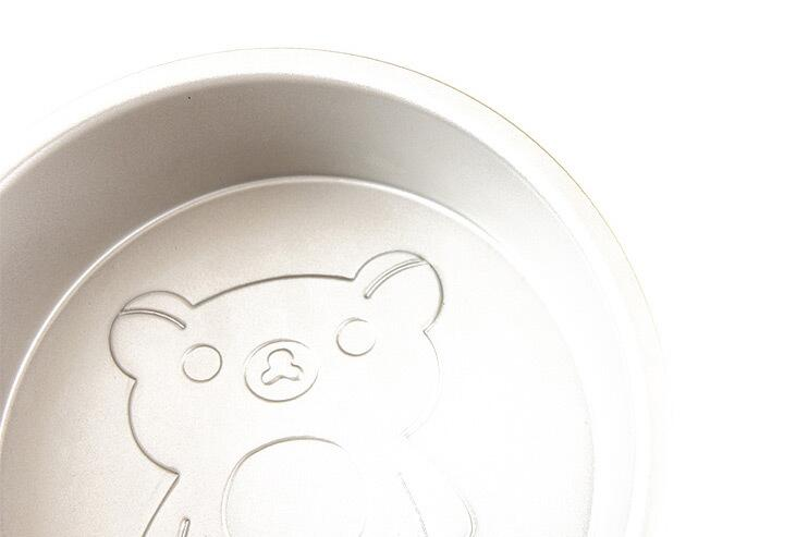 6 Inch Cartoon Bear Round Cake Mould 16